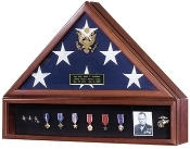American Flag Case and Medal Display Case- Presidential
